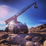 Съемка автомобильных сцен